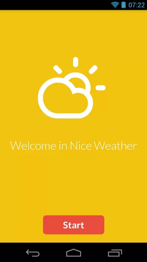 Nice Weather : une jolie météo sur Android